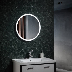 Miroir de salle de bain lumineux LED - Paradise - b-w-p-distribution.com