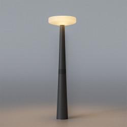 Lampadaire solaire avec détecteur - PAQUITA 215 - b-w-p-distribution.com