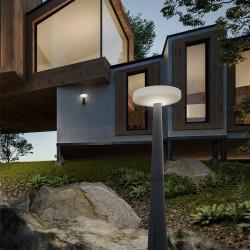 Lampadaire solaire avec détecteur - PAQUITA 215 - Newgarden