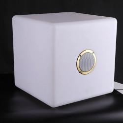 Cube lumineux et enceinte bluetooth - b-w-p-distribution.com
