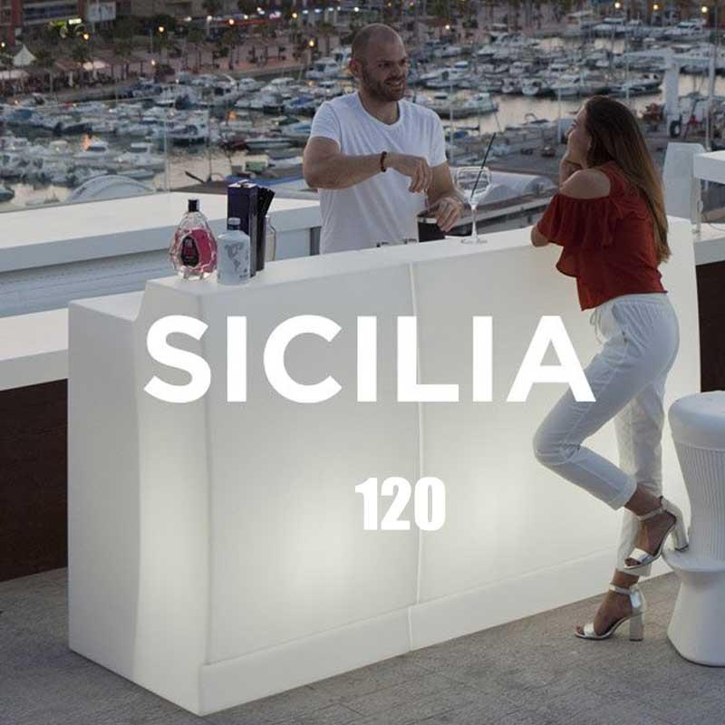 Bar d'interieur et d'exterieur - SICILIA 120 - Newgarden
