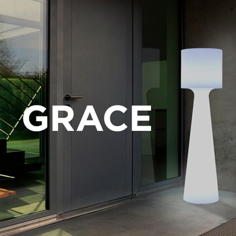 Lampadaire extérieur led - GRACE - Newgarden