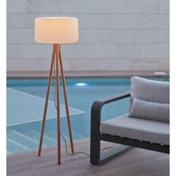 Luminaire design sur pieds en bois - CHLOÉ - Newgarden
