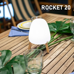 Lampe de table rechargeable led - ROCKET 20 - Newgarden