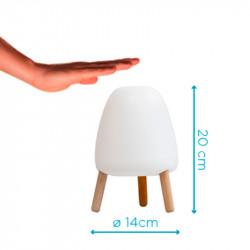 Lampe de table rechargeable led - ROCKET 20 - Newgarden